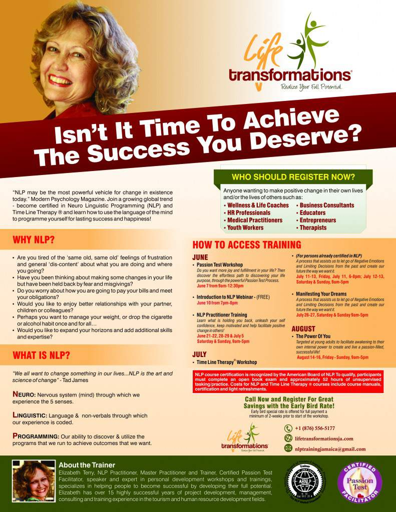 Life Transformations Events Flyer