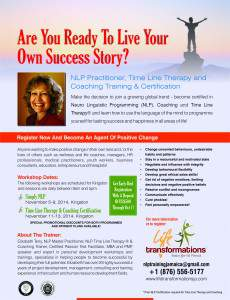 Simply NLP @ Kingston | Kingston | Ontario | Canada